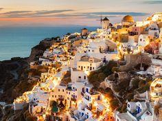 Les îles #Santorin et #Cyclades, #Grèce