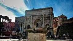 The Roman Forum: Arch of Septimius Severus