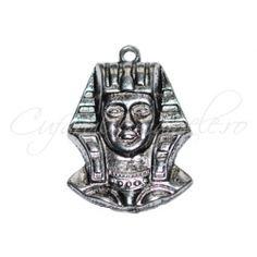 Pandantiv argintiu faraon 37x27 mm
