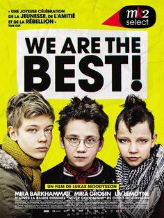 We are the best ! Langue : VOSTFR  Genre : Comédie dramatique, Drame  Duree : 1h 42mn  Taille : 455.20 MB  Qualite : BRRiP  Annee de Sortie : 2014  Soumis Par : Masupilami  Nom de la releaseNew : We.Are.The.Best.2013.VOSTFR.BRRiP.XviD.avi.mp4  Description : Stockholm, 1982, à l'heure où le disco explose, trois collégiennes, Bobo, Klara, Hedvig, tout juste 13 ans, décident de former un groupe de musique pour prouver que le punk n'est pas mort… Et pour crier très fort !
