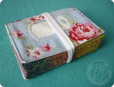 journal, spool, sewing, marysza, anita, sie, nudzi, flower, romantic,old, book, notebook,