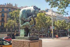 'El toro pensador' (Barcelona)