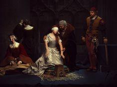 The Execution of Lady Jane Grey,The tribute. Based on a masterpiece painting by Paul Delaroche: http://en.wikipedia.org/wiki/File:PAUL_DELAROCHE_-_Ejecuci%C3%B3n_de_Lady_Jane_Grey_(National_Gallery_de_Londres,_1834).jpg