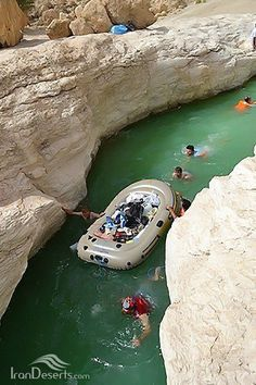 Buchir canyon and waterfall - Gavbandi, Hormozgan province, Iran (in Persian: تنگ و آبشار بوچیر، گاوبندی، استان هرمزگان) Credit: IranDeserts.com/