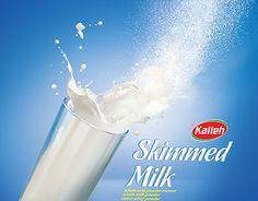 skimmed milk poster