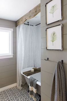 Easy Bathroom Wall Ideas how to install an easy diy beadboard hook wall in a bathroom. it's