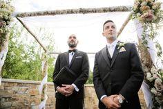 St Regis Deer Valley Wedding with Classically Elegant Details | Logan Walker Photography | Groom waits for his Bride