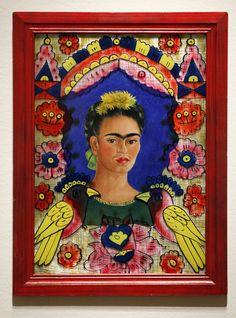 Un retrato de Frida Kahlo de 1938, expuesto en 2012 en el Seattle Art Museum