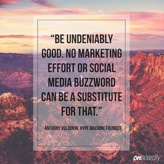 Be undeniably good. Simple as that. Hype Machine, Startup Quotes, Letter Board, Social Media, Photo And Video, Motivation, Simple, Instagram, Social Networks