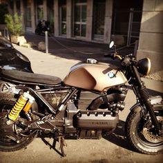 BMW caféracer via @federabo