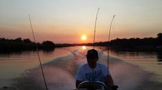 Sunset Boat Trip on the Okavango near Rundu.  Image: Jockel von Marées