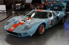 The $11 million Ford GT40 P-1074 at its new home, Larry H. Miller Total Performance Museum