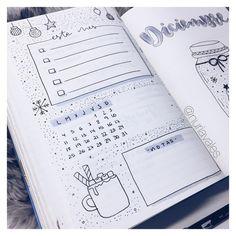"""900 Me gusta, 21 comentarios - Bullet journal & Studygram (@nuriavales) en Instagram: """"¡A por el último mes del año!"""""""