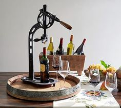 This beautiful vintners standing wine open definitely caught our attention! Don't you love it?