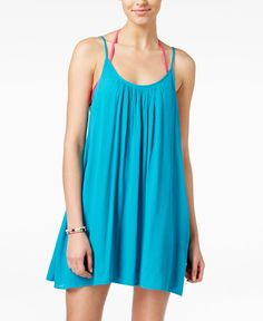 Roxy Juniors' Windy Fly Away Strappy Trapeze Sundress