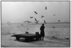 Henri Cartier-Bresson WEST GERMANY. Rhineland-Westphalia. Dusseldorf. The Rhine. 1956