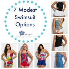 7 Modest Swimsuits for Women - Long Wait For Isabella