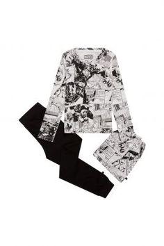 pyjamas marvel kids