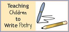 poetry for kids to write Minds in bloom is pleased to welcome back christina gil today christina is sharing her techniques for making poetry for kids a fun and engaging experience that enhances their reading, writing, and analyzing skills.