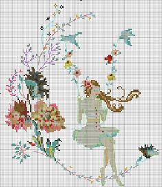 This Pin was discovered by Del Cross Stitch For Kids, Cross Stitch Kitchen, Cross Stitch Books, Just Cross Stitch, Cross Stitch Borders, Cross Stitch Flowers, Cross Stitch Designs, Cross Stitching, Cross Stitch Embroidery
