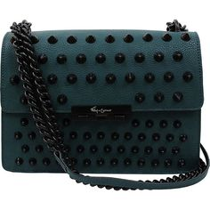 dbe2101aba3 This edgy purse is elevated with a chainstrap that can be worn on shoulder  or crossbody.