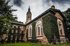 Princeton University Nassau Hall by Emily Kay Einstein, The Last Lecture, College Aesthetic, Far Future, Princeton University, Old Money, College Campus, Gothic Architecture, Community College