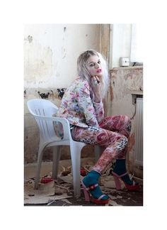 Pastel Grunge Photoshoots - The Material Girl Spring 2012 Editorial is Full of Pretty Attitude (GALLERY)