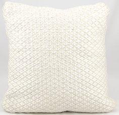 Woven Luster Throw Pillow