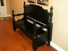 Trash-to-Treasure Bed Bench - by wooddude @ LumberJocks.com ~ woodworking community