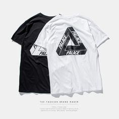 2016 palace skateboards classic triangle print mens hip hop summer noah clothing gosha rubchinskiy cotton swag tshirt tee S-XXXL