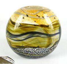 Gozo Glass Designer Vase Seashell Pattern possibly Michael Harris Design Malta | eBay