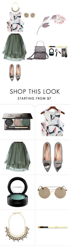 """Had some fun on the run though, I gave it to you"" by lalaloveamanda11 ❤ liked on Polyvore featuring Chantecaille, Antonio Marras, Chiara Ferragni, MAC Cosmetics, Lele Sadoughi and Bobbi Brown Cosmetics"