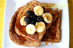 Banana Bread French Toast whole grain