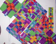 IMG_0384v2 by Laura333, via Flickr - quick can be made using Alicia Merrett: Contemporary Art Quilt Demonstration
