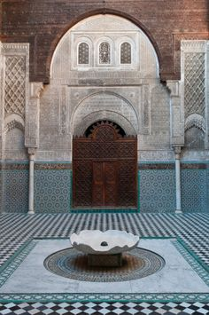 The Medersa el Attarin, Fez, Morocco