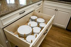 I want a big drawer or two to organize dishes like this - #cultivateit