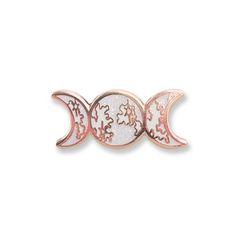 Image of Triple Goddess Moon Pin