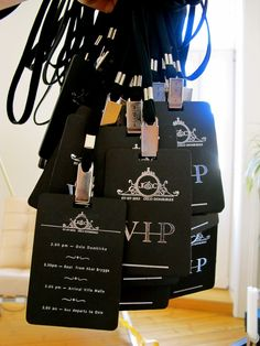 Too cool! #VIP #Wedding #Schedule