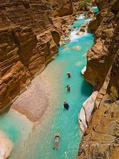 Arizona Trip Planner - Best Destinations To Add To Your Travel Itinerary : Havasu Creek, Grand Canyon National Park Vacation Places, Vacation Ideas, Dream Vacations, Vacation Spots, Places To Travel, Hiking Places, Honeymoon Places, Us Travel Destinations, Italy Vacation