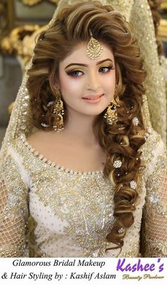 If you are going to be a bride soon and already know what you'll be wearing on your functions, then the next step is getting the perfect wedding makeup. Here are some Indian bridal makeup images to help you pick what you want. Bridal Makeup Images, Bridal Makeup Looks, Indian Bridal Makeup, Asian Bridal, Bridal Hair And Makeup, Bride Makeup, Hair Makeup, Wedding Makeup, Engagement Hairstyles