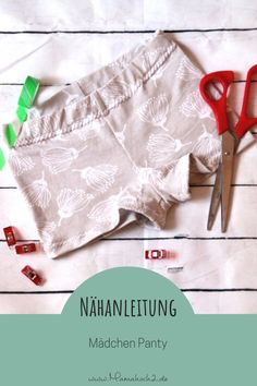 Girl Panty: sewing instruction and pattern for size - Handcrafted Stylish Outfits, Kids Outfits, Long Pink Hair, Underwear Pattern, Girls In Panties, Fabric Dolls, Silk Fabric, Free Pattern, Kids Fashion