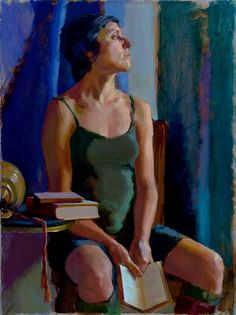 Morning by Lea Wight Oil ~ 24 x 18