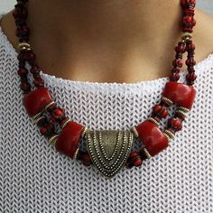 '90s Tribal Necklace