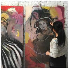 Mona Nahleh work in progress