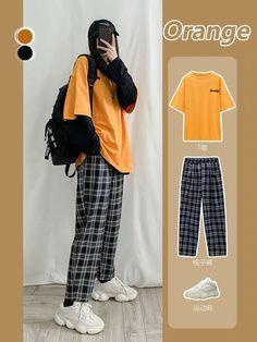 Korean Girl Fashion, Korean Fashion Trends, Ulzzang Fashion, Korean Street Fashion, Look Fashion, Fashion Fall, Fashion Men, Classy Fashion, Party Fashion