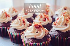 15 Food Lr Presets by @Graphicsauthor