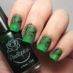 The Clockwise Nail Polish: Born Pretty BP-L001 Stamping Plate Review & Penélope Luz Saint Tropez