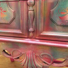 Girls pink dresser lavender color pink chest of drawer little girls vanity – Dresser Decor Pink Chest Of Drawers, Pink Chests, Pink Dresser, Large Drawers, Little Girl Vanity, Girls Vanity, Diy Dresser Makeover, Furniture Makeover, Paint Furniture
