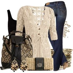 Cozy Outfits for those chilly nights out with your friends....
