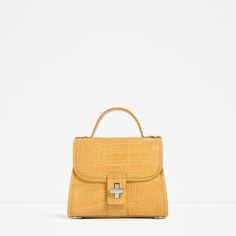 MINI EMBOSSED CITY BAG-Shoes and bags-WOMAN-NEW IN | ZARA United States